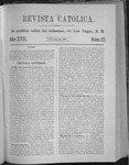 Revista Católica Vol 17-2, July-Dec, index, 1891