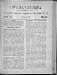 Revista Católica Vol 18-2, July-Dec, index, 1892