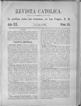 Revista Católica Vol 20-2, July-Dec, index, 1894
