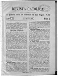 Revista Católica Vol 21-1, Jan-June, 1895