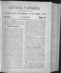 Revista Católica Vol 21-2, July-Dec, index, 1895