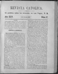 Revista Católica Vol 25-2, July-Dec, index, 1899